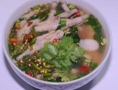 สูตรอาหารไทย : ต้มแซ่บตีนไก่ซุปเปอร์ เผ็ดซี้ดถึงใจ