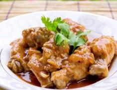 สูตรอาหารไทย : ปีกไก่น้ำแดง