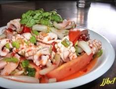 สูตรอาหารไทย : ยำปลาหมึก ให้อร่อยเหาะ