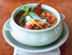 สูตรอาหารไทย : แกงเผ็ดเป็ดย่าง หอมอร่อย