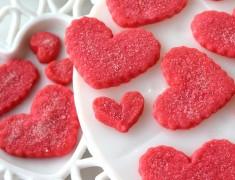 สูตรเบเกอรี่_คุกกี้รูปหัวใจสีชมพู_อร่อยเหาะ