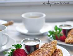 สูตรอาหารเช้า_ครันชีเฟรนช์โทส_อร่อยเหาะ